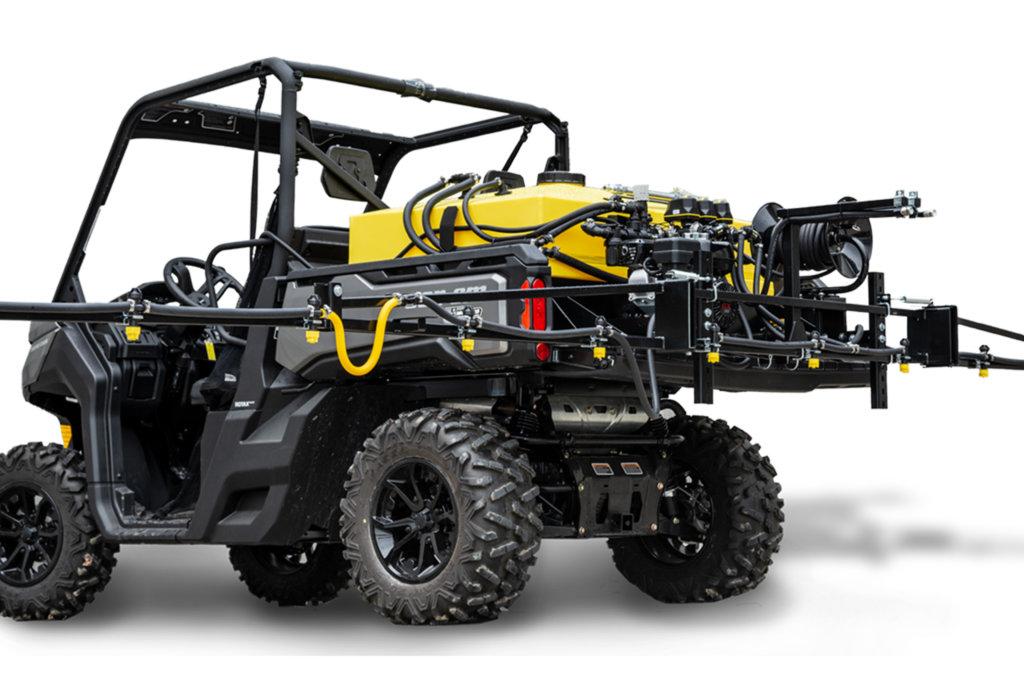 UTV Skid Sprayer   Low Profile Tank, Gas or Electric   F/S