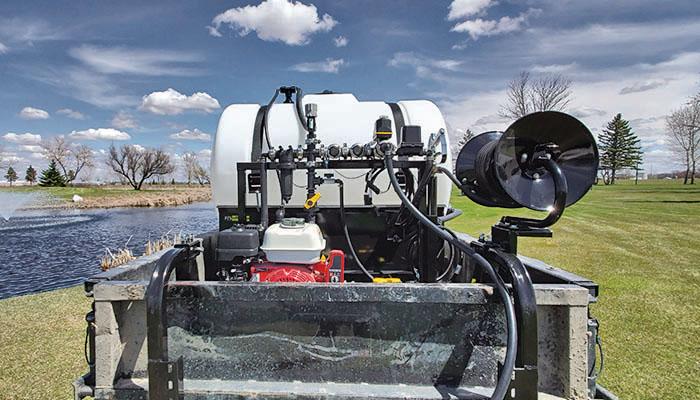 FS Manufacturing   NEW Golf Utility Vehicle Sprayer